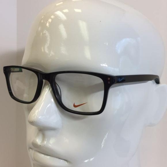 ca379074ec87 Nike Accessories | 7243 002 Black Emerald Green Plastic Eyeglass ...